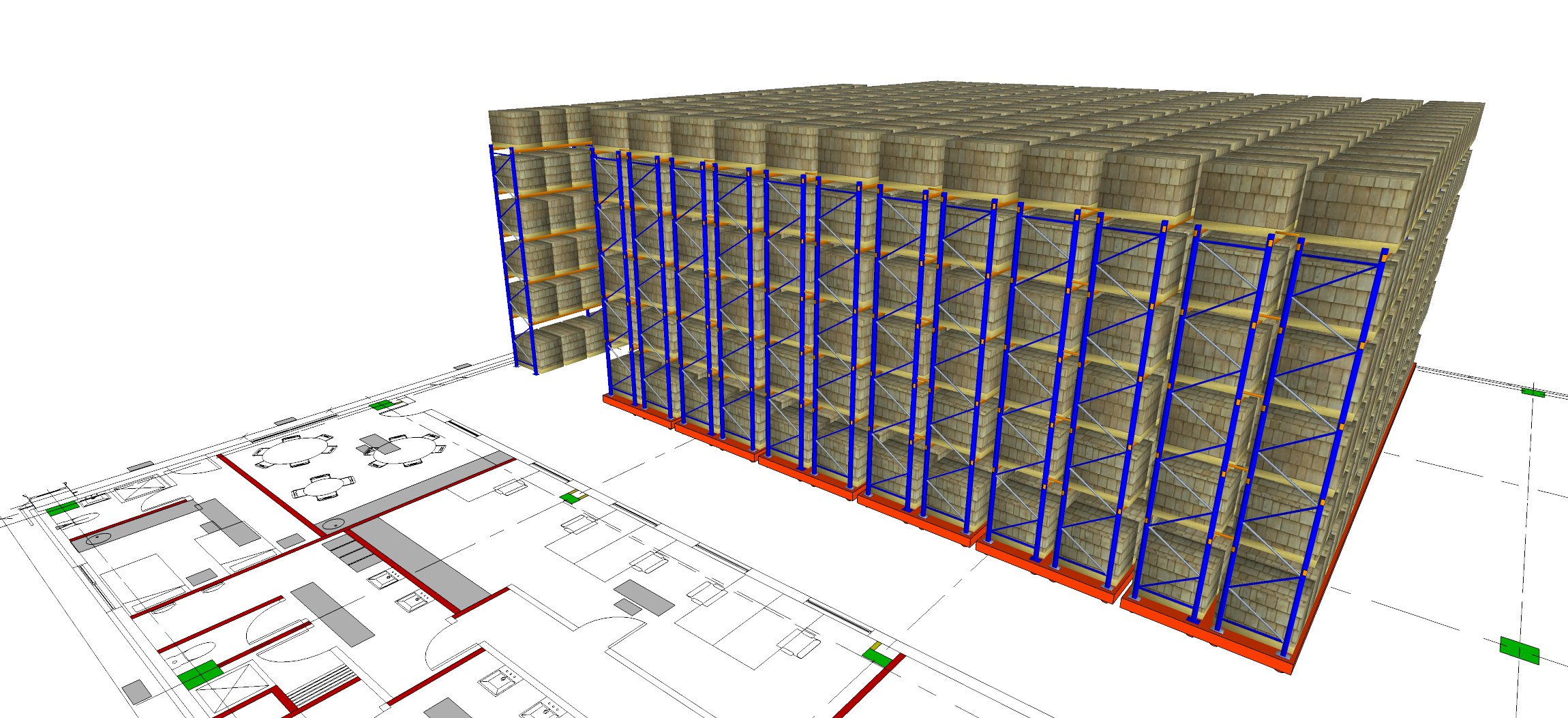 Cold Store Selective Pallet Racking